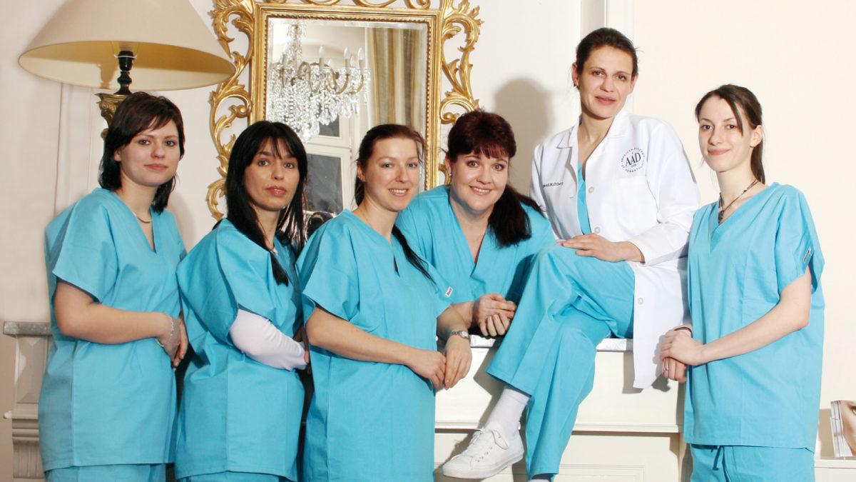Dr. Nina Otberg Team